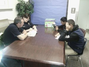 Distsric 2 Officers share reading